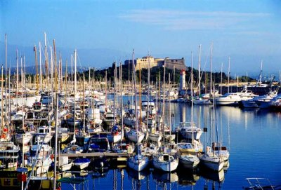 Antibes harbour - rent holiday rental homes in Antibes, France