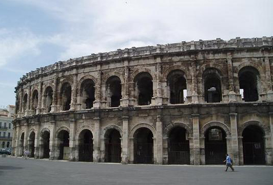 The Fantastic Amphitheatre in Nimes