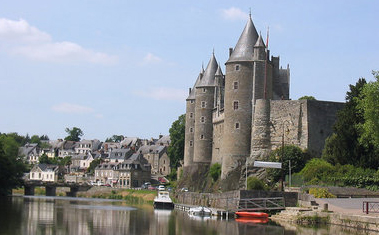 One of the stunning medieval attractions worth visiting when on holiday in Morbihan, Brittany