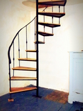 Stairs to the bedroom0