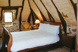 Master bedroom - Double room with en-suite facilities, bath, sink and loo
