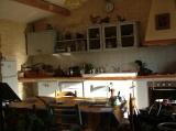The blue kitchen