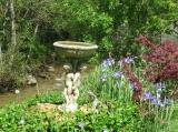 Garden & Stream at 1 Rue des Lavandieres