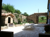 Courtyard For Lounging and Dining