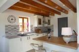 Fully integrated kitchen with microwave, dishwasher, induction hob and cooker