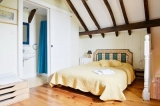 Bedroom 3 - On the first floor, double bed, single bed, en-suite shower room with toilet and washbasin