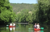 Canoeing on the River Vezere