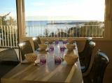 Sunny breakfast overlooking the port of bormes