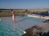 Heated Splash Pool