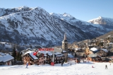 St Martin from the piste
