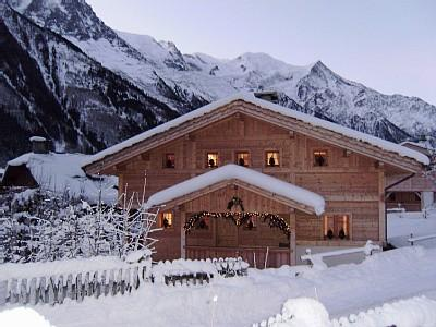 Luxurious Ski Holiday Chalet in Chamonix Centre, the French Alps