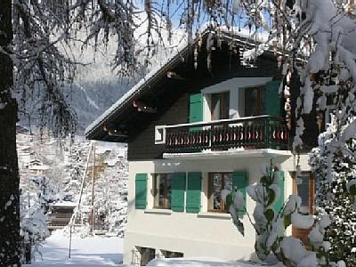 Chamonix Holiday Top Floor Apartment in Haute Savoie, France