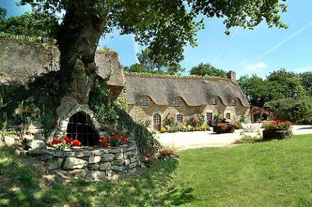 Holiday Rental Cottage in Morbihan, beside River Blavet