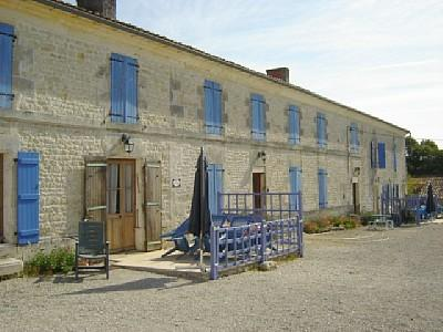 Spacious French Holiday Farmhouse in Le Pouzat, Charente-Maritime ~ La Ferme