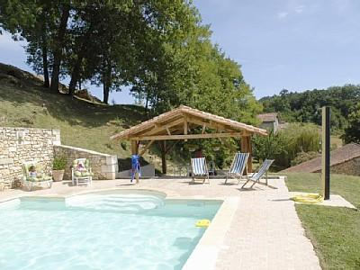 Dordogne Holiday Rental Home with Pool in Siorac de Riberac, Aquitaine, France
