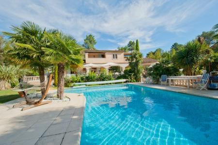 Fabulous Roquefort-les-Pins Holiday Villa Rental with Private Heated Pool