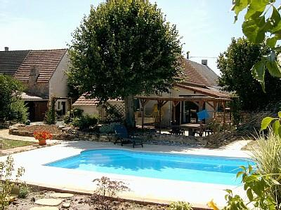 Indre Holiday Rental Cottage in Ambrault, Loire Valley, France