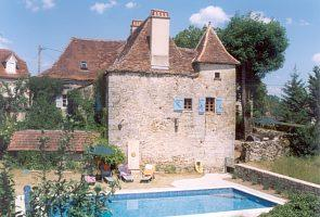 Quercynoix Lot Holiday Farmhouse to Rent with Private Pool, South West France