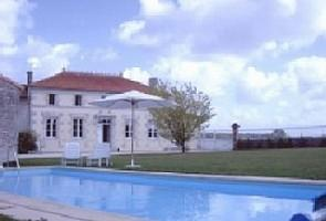 Charente Holiday Rental Farmhouse with heated Pool in Barbezières from 29 August 2020.