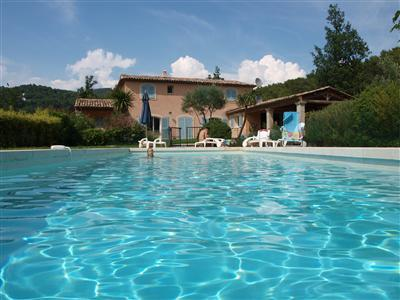 Fayence Holiday House Rental with Swimming Pool, Provence, France