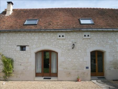 Holiday House to rent in Loire, between Parcay les Pins and Gizeux - La Maison Vaslin