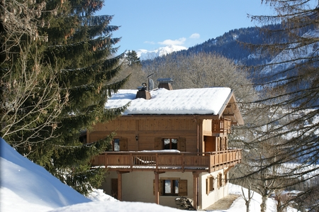 Luxury Megeve Self-Catered Holiday Chalet Rental, Close to Geneva
