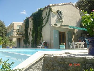 Ceret Holiday Villa Rental with Pool, Pyrenees-Orientales, France