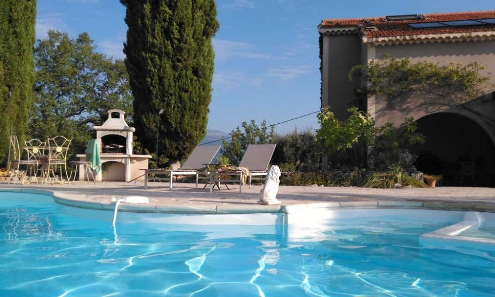 Tranquil Fayence Holiday Villa to rent with Private Pool