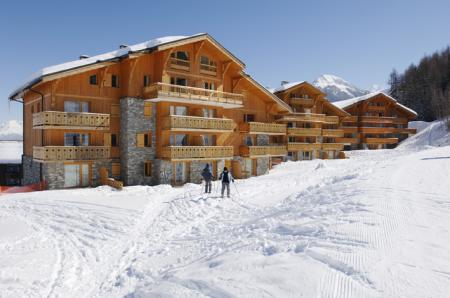Self catered La Plagne Chalet Apartment Rentals in France ~ 23B Les Chalets Des Montalbert