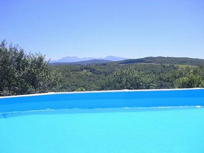 Ariege Holiday Home to rent with Pool, Fantastic Pyrenees Views, France