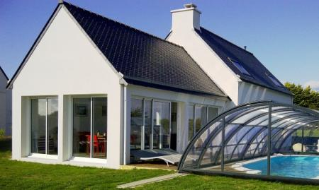 Plovan Holiday Guest House with Heated Pool, Brittany, France ~ Guest House with Sea Views, WIFI
