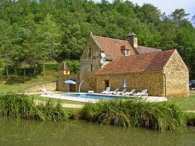 Old Watermill rental accommodation near Sarlat, Dordogne, Aquitaine
