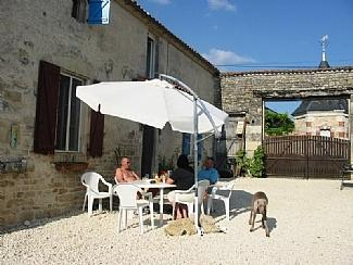 Large Farmhouse Holiday Rental with Pool near Ruffec, Poitou Charentes, France