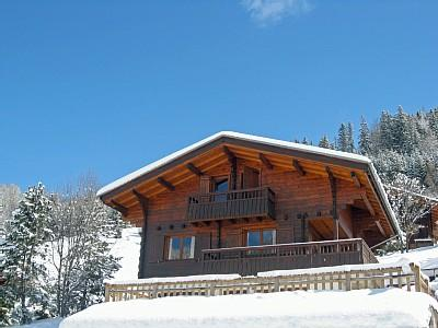 La Clusaz Holiday Chalet Rental with Outdoor Jacuzzi and Magnificent Views