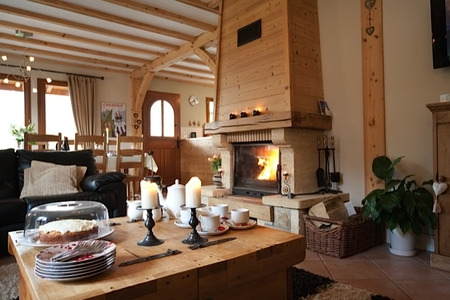 Chamonix Chalet with Stunning Views of Mont Blanc, Jacuzzi, private parking