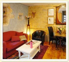 Romantic Holiday Rental Apartment in medieval quarter Sarlat, Dordogne