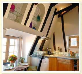 Bespoke Sarlat Apartment to Rent in the medieval quarter, Dordogne