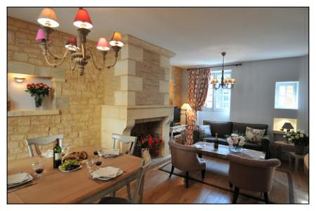 Medieval Sarlat Holiday Gite Rental in Dordogne, France ~ Tastefully Decorated Sarlat Apartment