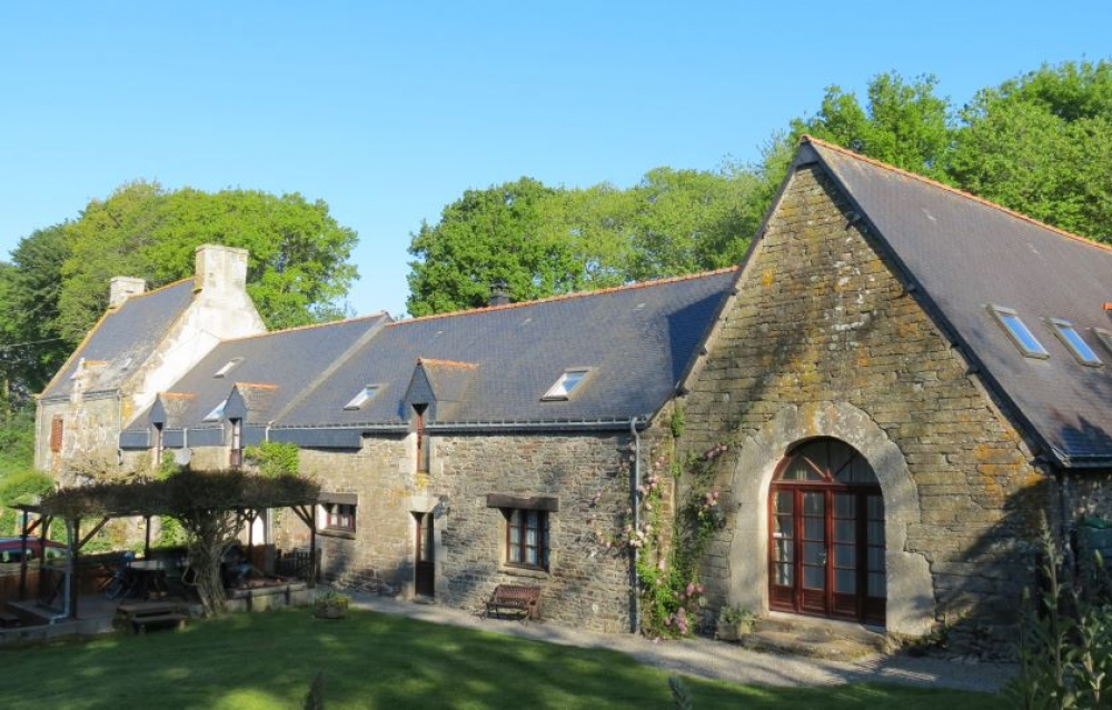 Morbihan Self catering cottage rental in Brittany, France