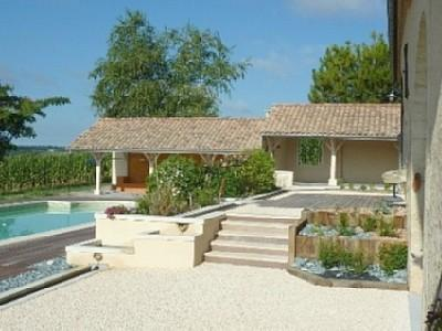 Superb Gironde Holiday Rental Villa near Monsegur, Aquitaine, France ~ Gironde Villa