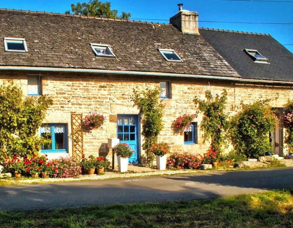 Finistere Holiday Rental Cottage in Huelgoat, Brittany