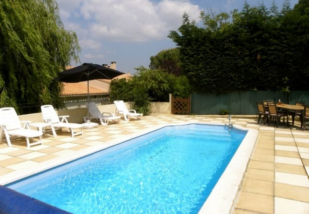 Carcassonne Holiday Rental Home with Pool in Aude, Palaja, France - Chez Saule