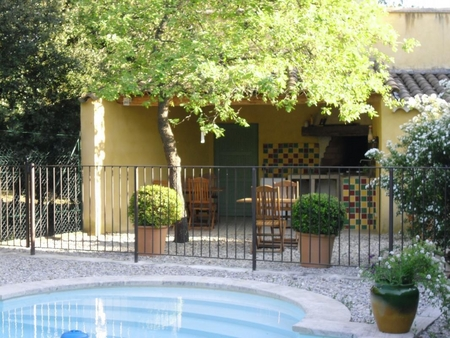 Independent Provence Holiday Rental Gite with Pool at the foot of the Mont-Ventoux, Mazan, France