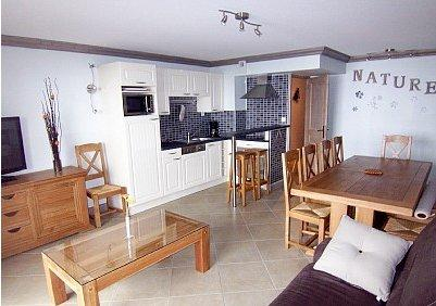 Ski holiday apartment located in Les Sept Laux , Rhone-Alpes, France ~ D303-8/11