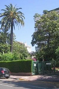 Holiday Studio Rental in Pointe Croisette, Cannes, Provence, France