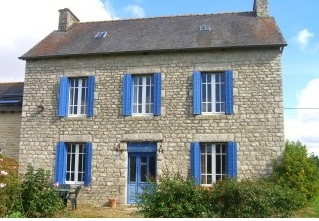 Self Catering Evran Holiday House in St Andre Des Eaux, Brittany, France