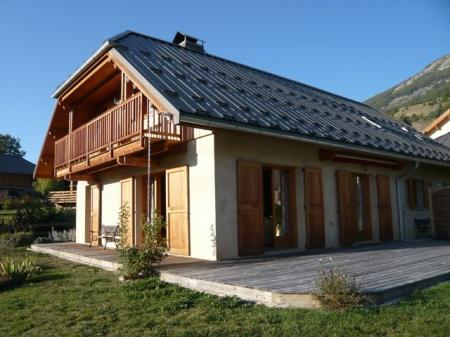 Les Orres Holiday Rental Ski Chalet in Hautes-Alpes, Provence, France ~ CHALET CL