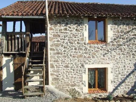 Charente Holiday Rental Cottage with Pool in Chirac, South West France ~ Chabanais Cottage