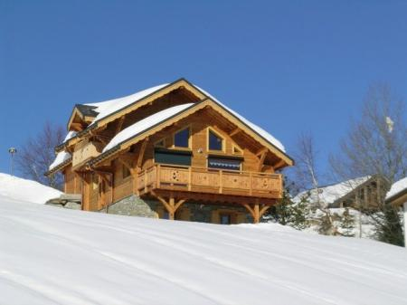 La Toussuire Holiday Rental Chalet in Savoie, French Alps, France ~ CHALET SAVOYE