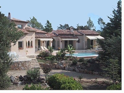 Holiday Rental Villa in Provence, France, Var, Cote d Azur, Pool and Tennis